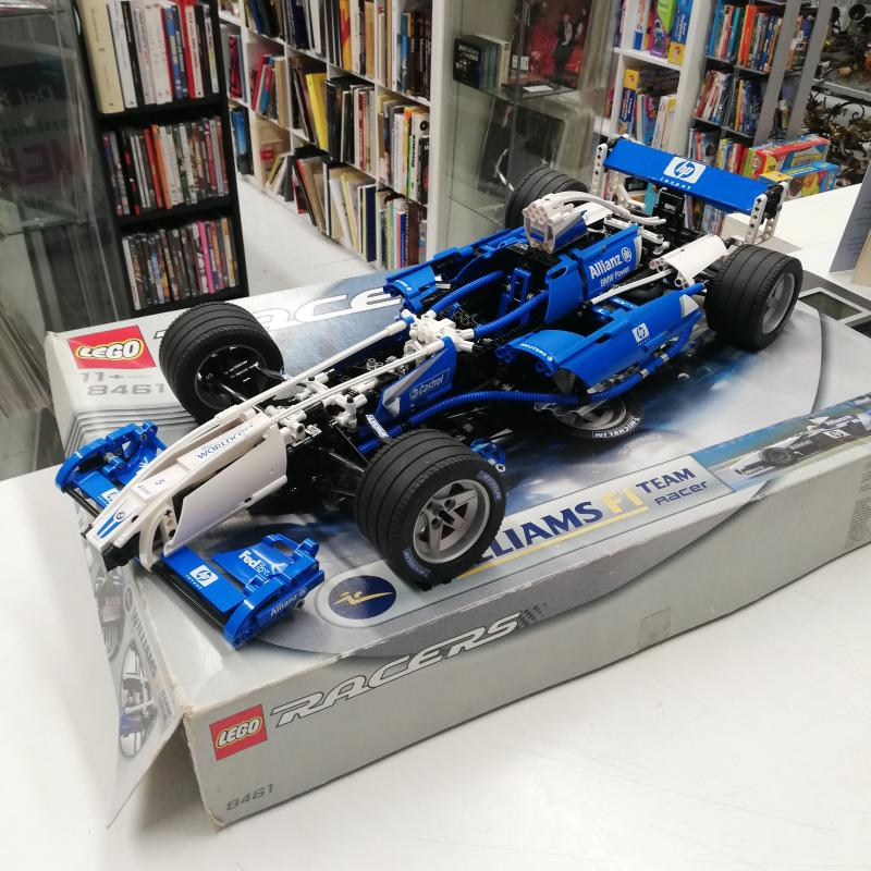 LEGO RACERS F1 WILLIAMS 8461   Mercatino dell'Usato Roma somalia 2