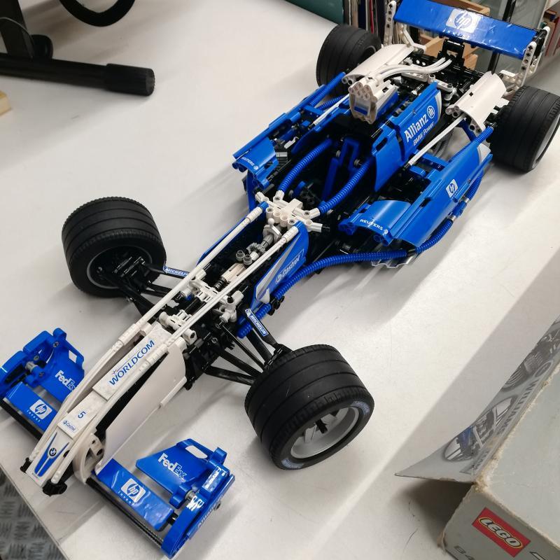 LEGO RACERS F1 WILLIAMS 8461   Mercatino dell'Usato Roma somalia 3