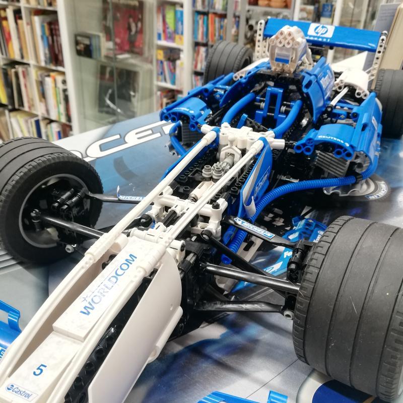 LEGO RACERS F1 WILLIAMS 8461   Mercatino dell'Usato Roma somalia 4