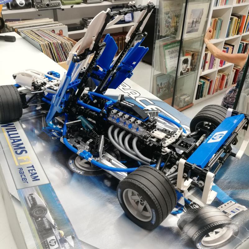 LEGO RACERS F1 WILLIAMS 8461   Mercatino dell'Usato Roma somalia 5