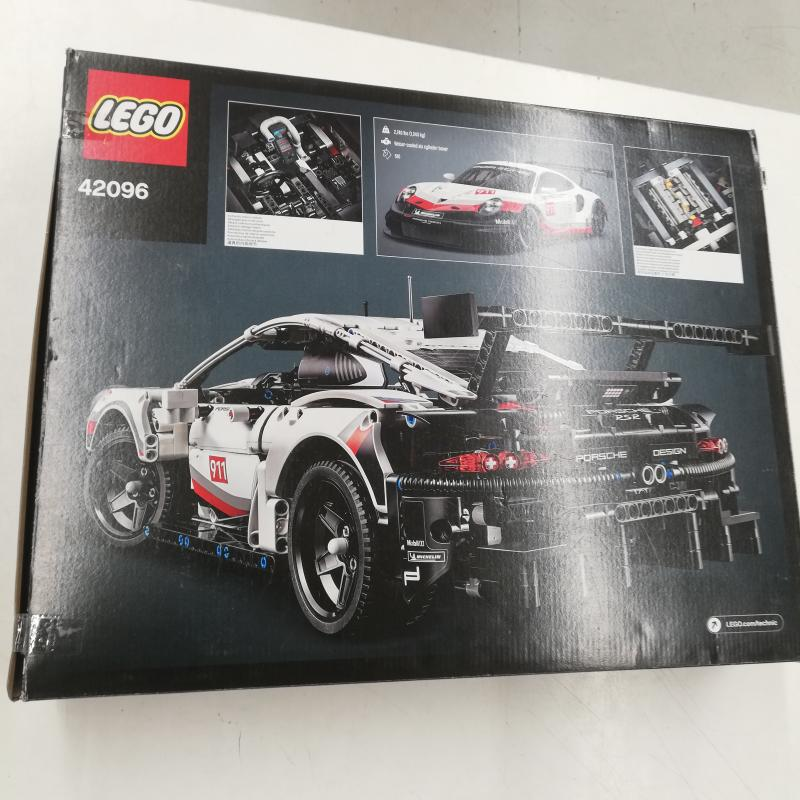 LEGO TECHNICS PORSCHE 911 RSR 42096   Mercatino dell'Usato Roma somalia 2