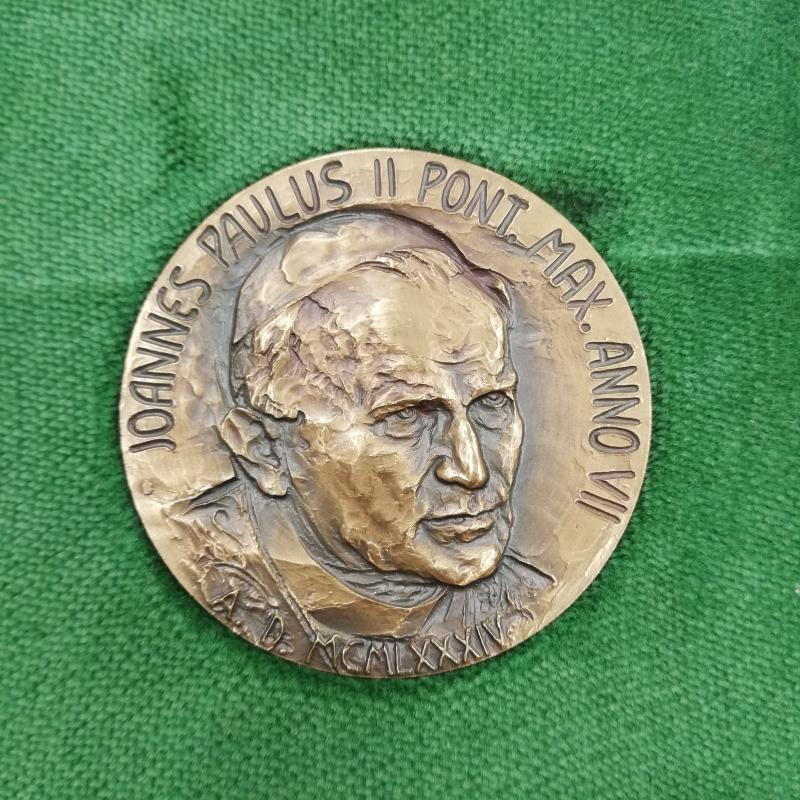 MEDAGLIA 1985 PONTIFICATO GIOVANNI PAOLO II | Mercatino dell'Usato Roma somalia 2