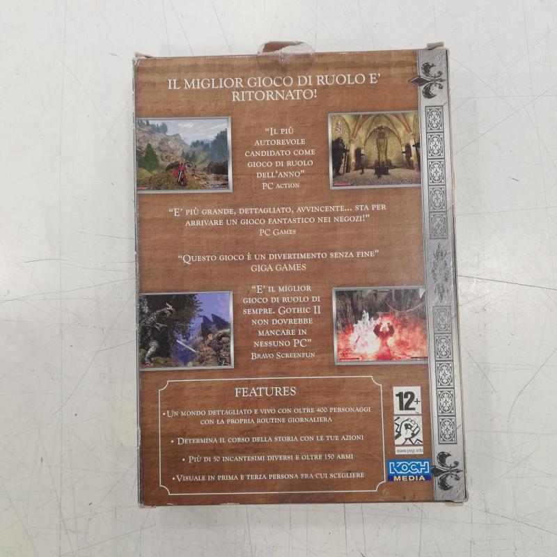 VIDEO GIOCO GOTHIC II    Mercatino dell'Usato Roma somalia 3