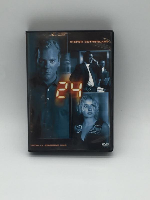 DVD SERIE 24 STAGIONE UNO   Mercatino dell'Usato Roma rebibbia 1