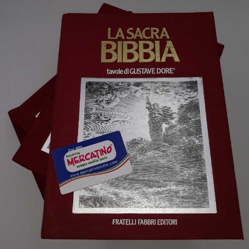 LIBRI X 4 LA SACRA BIBBIA ILLUSTRATA DA GUSTAVO DO | Mercatino dell'Usato Rimini 1