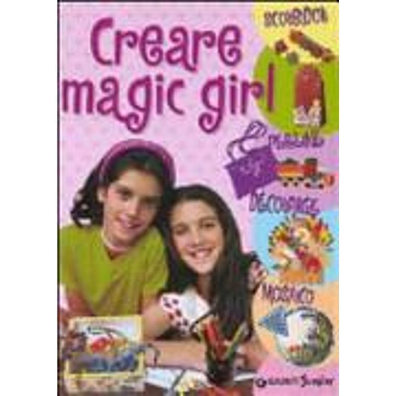 CREARE MAGIC GIRL. SCOUBIDOU, PERLINE, DÉCOUPAGE,  | Mercatino dell'Usato Rimini 1