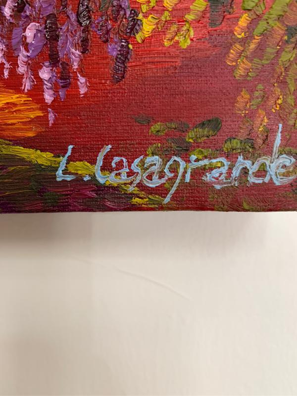 QUADRO LORENA CASAGRANDRE H30 L30 | Mercatino dell'Usato Pontecagnano faiano 2