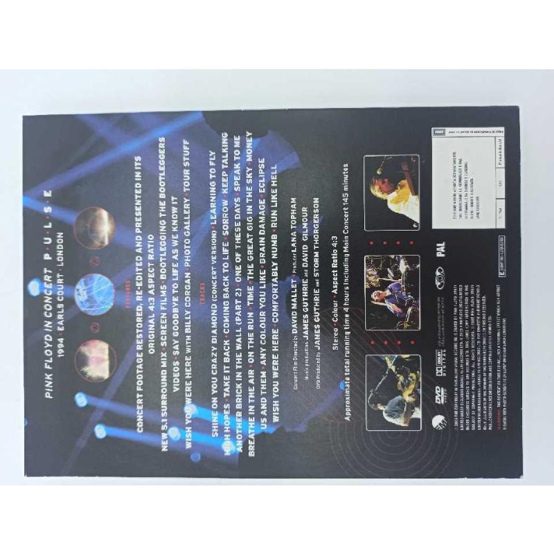DVD PINK FLOYD PULSE | Mercatino dell'Usato Teramo 3