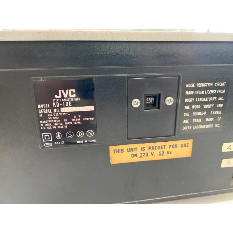LETTORE CASSETTE VINTAGE JVC KD-10J STEREO REGISTRATORE A CASSETTE | Mercatino dell'Usato Teramo 4