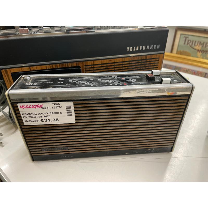 GRUNDIG RADIO MAGIC BOY 303B VINTAGE PORTABLE RADIO | Mercatino dell'Usato Teramo 4