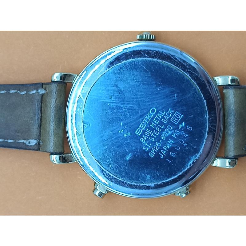 OROLOGIO DA POLSO SEIKO QUARTZ CHRONOGRAPH 6M25 - 6020 JAPAN 160046 | Mercatino dell'Usato Teramo 3
