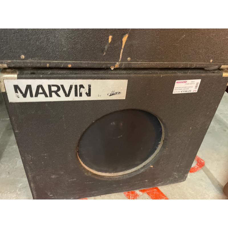 AMPLIFICATORE MARVIN MACK PER CHITARRA CON 2 CASSE SPIA | Mercatino dell'Usato Teramo 3