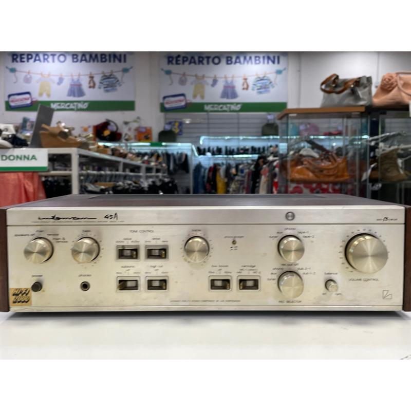 AMPLIFICATORE LUXMAN L 45 A JAPAN PERFECT   Mercatino dell'Usato Teramo 5
