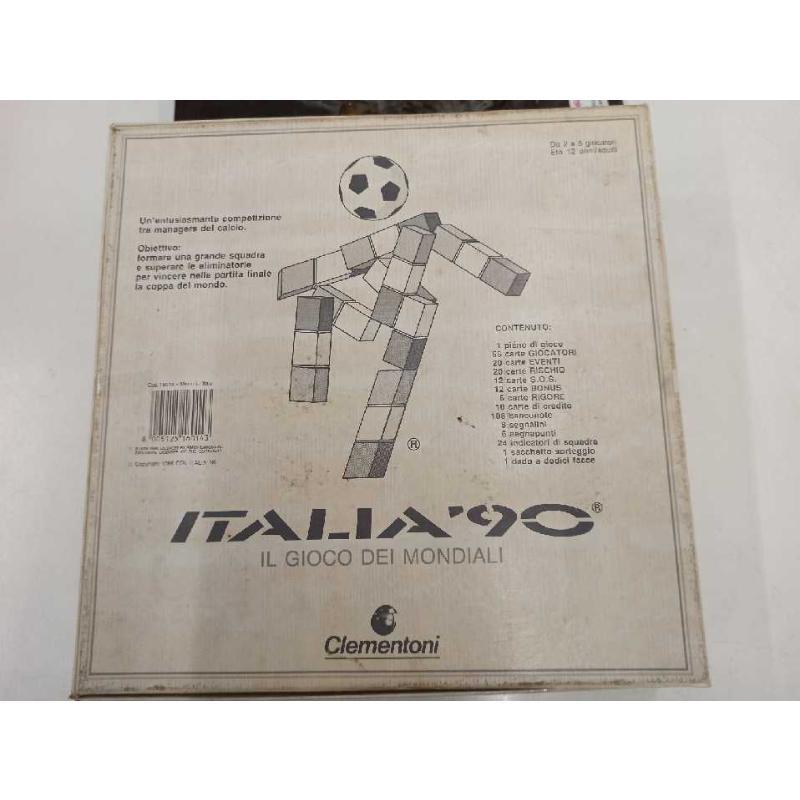ITALIA '90 - IL GIOCO DEI MONDIALI (RARO) - GIOCO DA TAVOLO CLEMENTONI   Mercatino dell'Usato Teramo 2