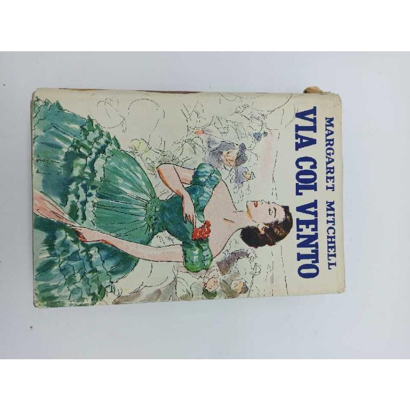 LIBRO ANTICO VIA COL VENTO MONDADORI STAMPA 1938   Mercatino dell'Usato Teramo 1