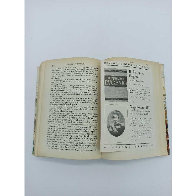 LIBRO ANTICO VIA COL VENTO MONDADORI STAMPA 1938   Mercatino dell'Usato Teramo 3