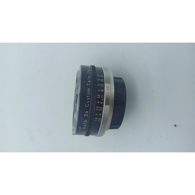 OBIETTIVO VIVITAR AUTO 2X CUSTOM TELE CONVERTER MODEL 2X-7 | Mercatino dell'Usato Teramo 4