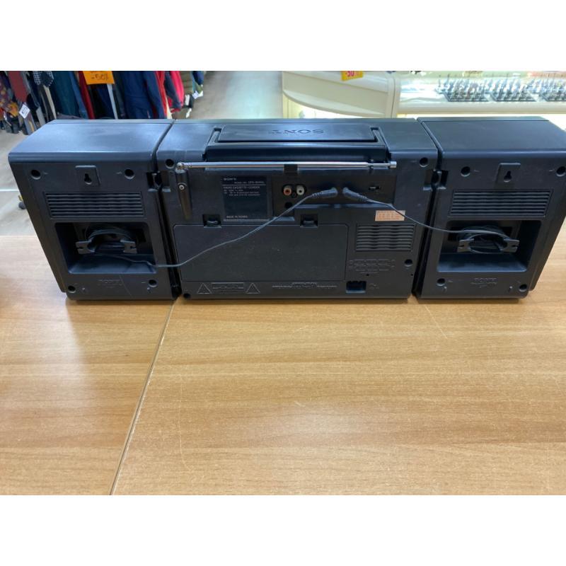 RADIO SONY CFS-W410L STEREO PORTATILE BOOMBOX RADIO REGISTRATORE    Mercatino dell'Usato Teramo 2