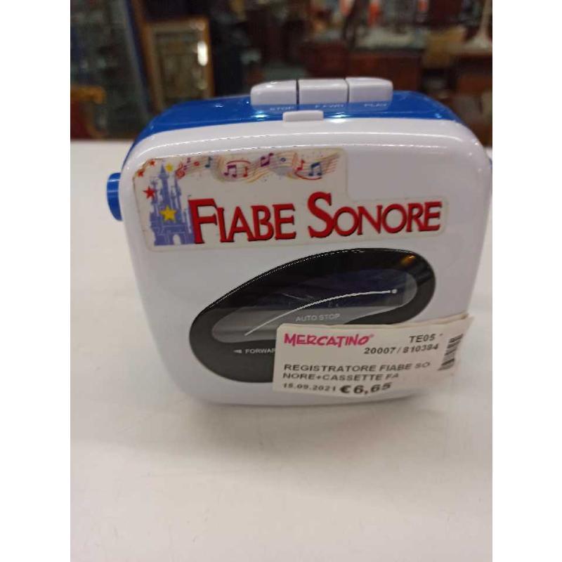 REGISTRATORE FIABE SONORE+CASSETTE FABBRI | Mercatino dell'Usato Teramo 1