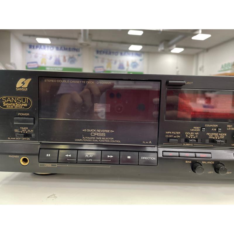 REGISTRATORE SANSUI D-X311WR CASSETTE DECKNERO MADE IN JAPAN | Mercatino dell'Usato Teramo 3