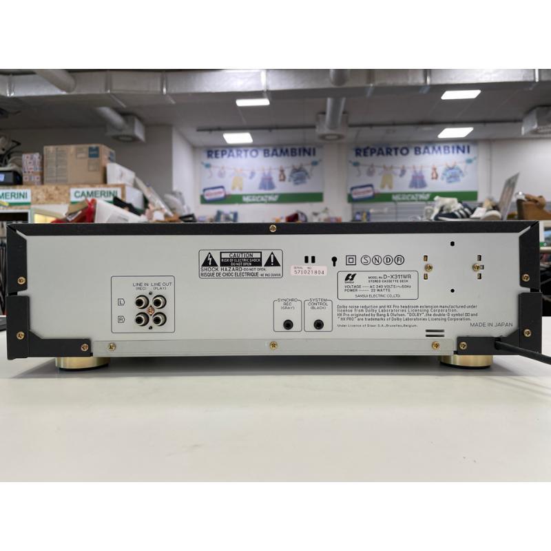 REGISTRATORE SANSUI D-X311WR CASSETTE DECKNERO MADE IN JAPAN | Mercatino dell'Usato Teramo 4