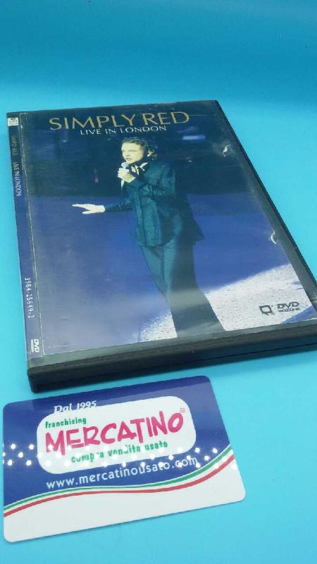 DVD LIVE IN LONDON SIMPLY RED | Mercatino dell'Usato Moncalieri bengasi 1