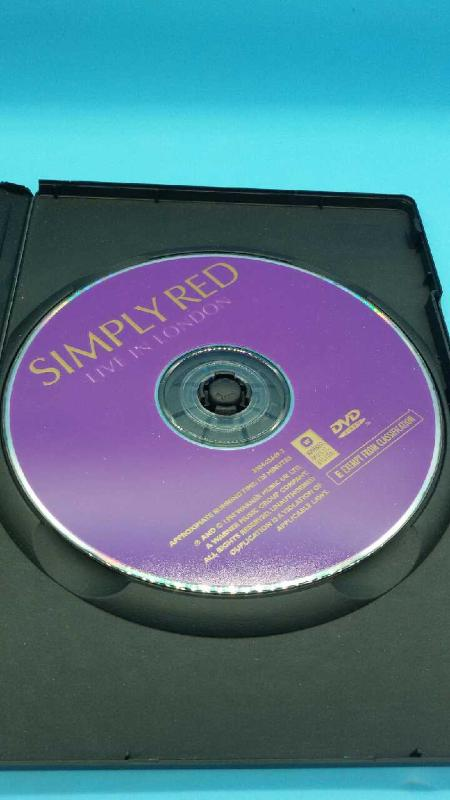 DVD LIVE IN LONDON SIMPLY RED | Mercatino dell'Usato Moncalieri bengasi 2