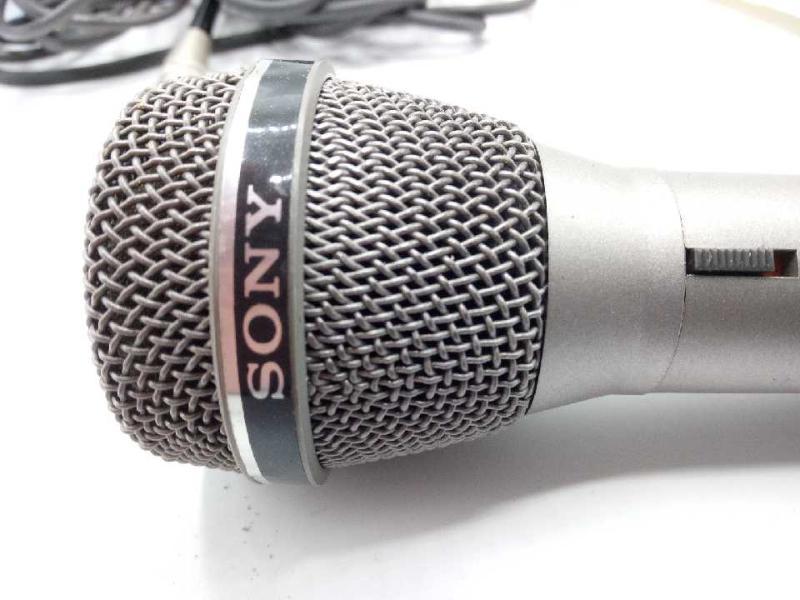 MICROFONO ANNI 80 SONY F-V4T  | Mercatino dell'Usato Moncalieri bengasi 3