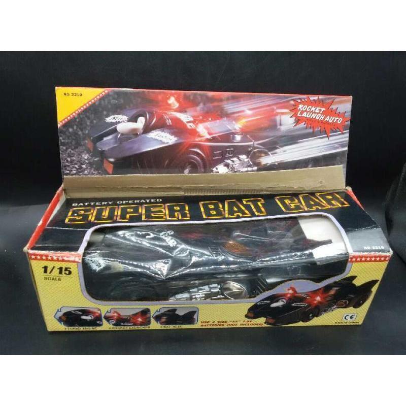 MODELLINO AUTO SUPER BAT CAR | Mercatino dell'Usato Moncalieri bengasi 1
