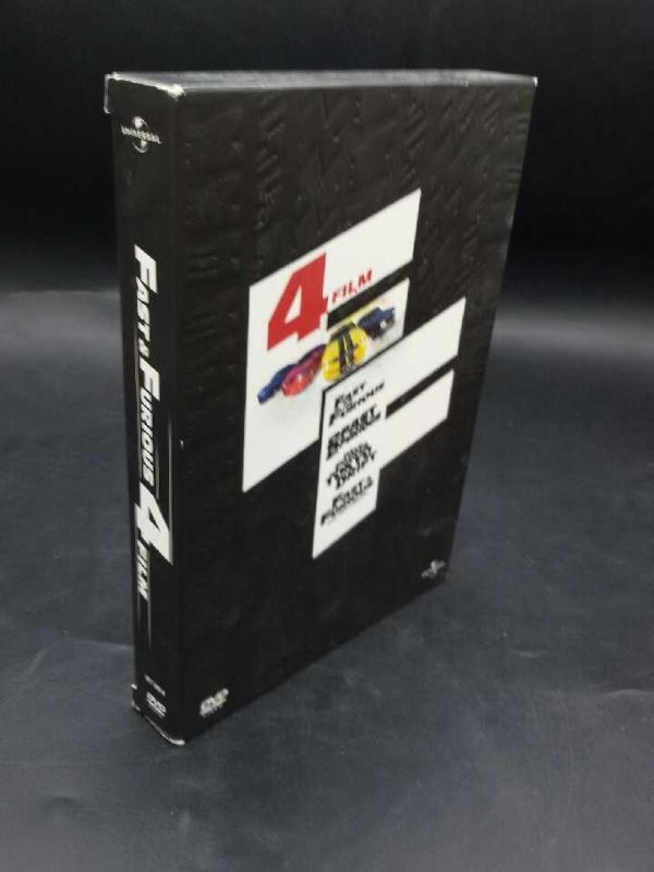DVD 4 FILM FAST & FURIOUS | Mercatino dell'Usato Moncalieri bengasi 1