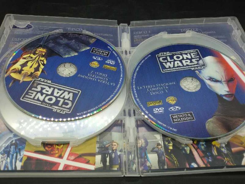 FILM THE CLONE WARS STAR WARS 3 STAGIONE | Mercatino dell'Usato Moncalieri bengasi 2
