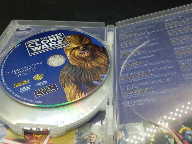 FILM THE CLONE WARS STAR WARS 3 STAGIONE | Mercatino dell'Usato Moncalieri bengasi 3