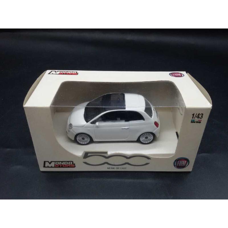 MODELLINO AUTO FIAT 500 1:43 MONDO MOTORS | Mercatino dell'Usato Moncalieri bengasi 1