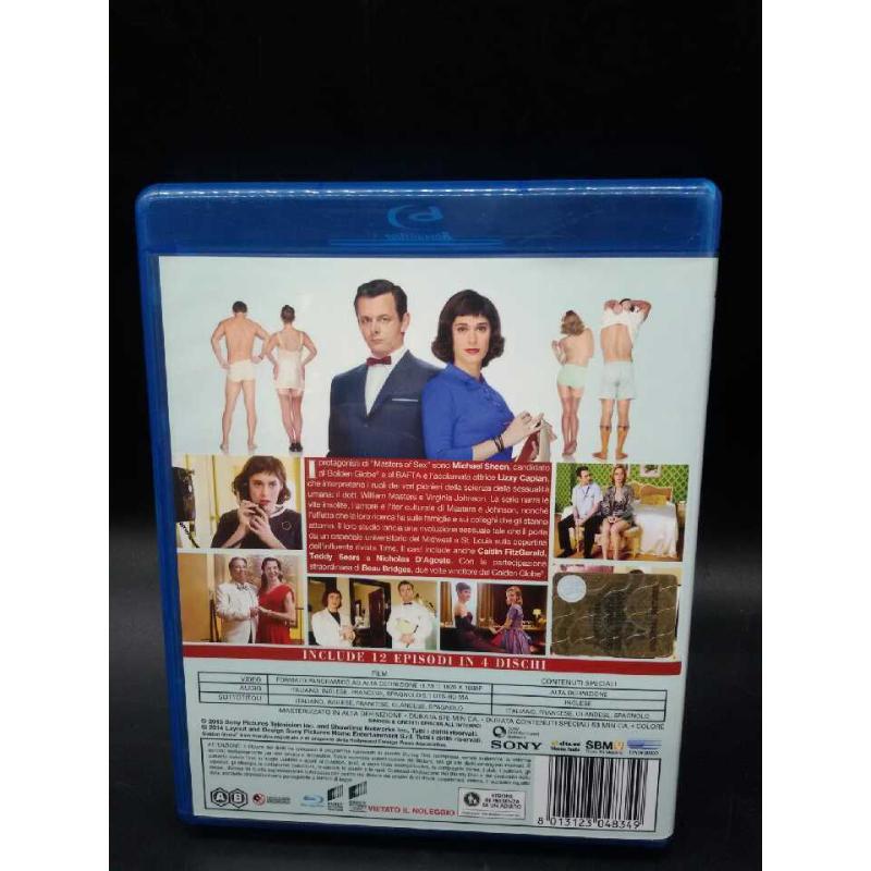 FILM BLURAY MASTER OF SEX PRIMA STAGIONE   Mercatino dell'Usato Moncalieri bengasi 2