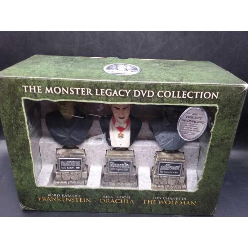 THE MONSTER LEGACY DVD COLLECTION BOX SET COMPRESO | Mercatino dell'Usato Moncalieri bengasi 1