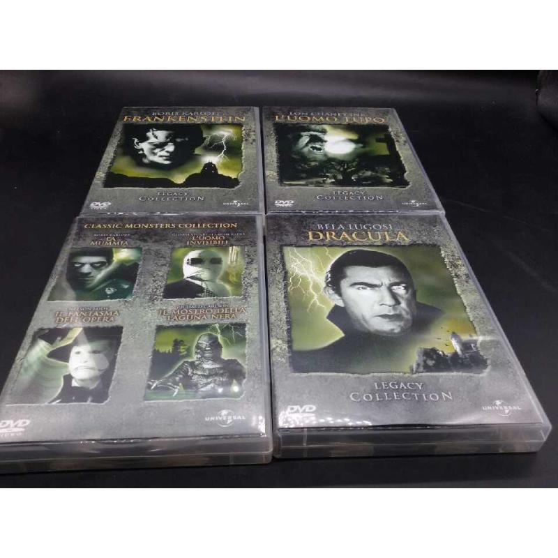 THE MONSTER LEGACY DVD COLLECTION BOX SET COMPRESO | Mercatino dell'Usato Moncalieri bengasi 2