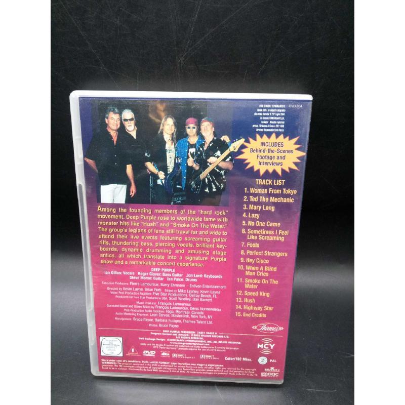 DVD LIVE DEEP PURPLE PERIHELION | Mercatino dell'Usato Moncalieri bengasi 2