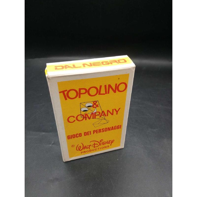 CARTE DA GIOCO TOPOLINO & COMPANY DAL NEGRO COMPLETE | Mercatino dell'Usato Moncalieri bengasi 2