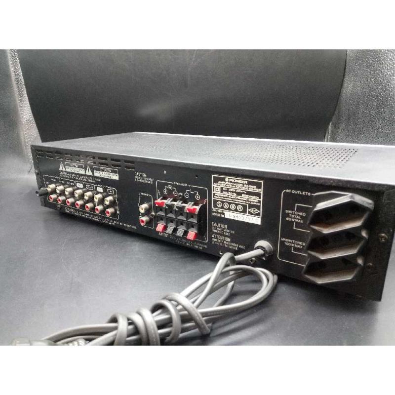 AMPLIFICATORE INTEGRATO SPIONEER SA-550 | Mercatino dell'Usato Moncalieri bengasi 3
