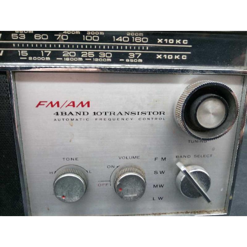 RADIO FM-AM 4 BAND 10TRANSISTOR VINTAGE TOKYO JAPAN | Mercatino dell'Usato Moncalieri bengasi 4
