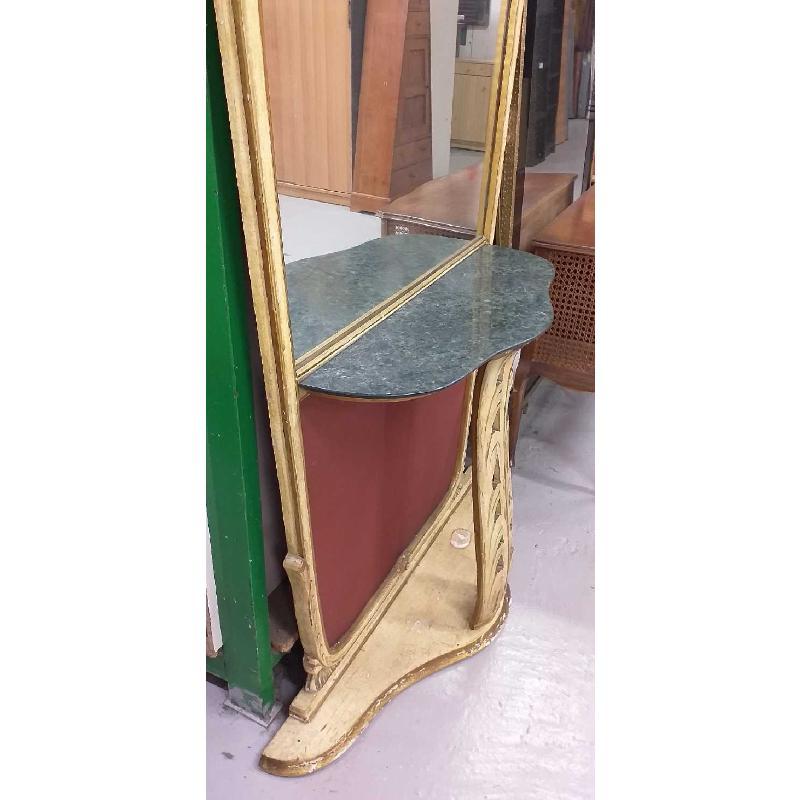 CONSOLLE SPECCHIO PIANO MARMO EPOCA  | Mercatino dell'Usato Moncalieri bengasi 4