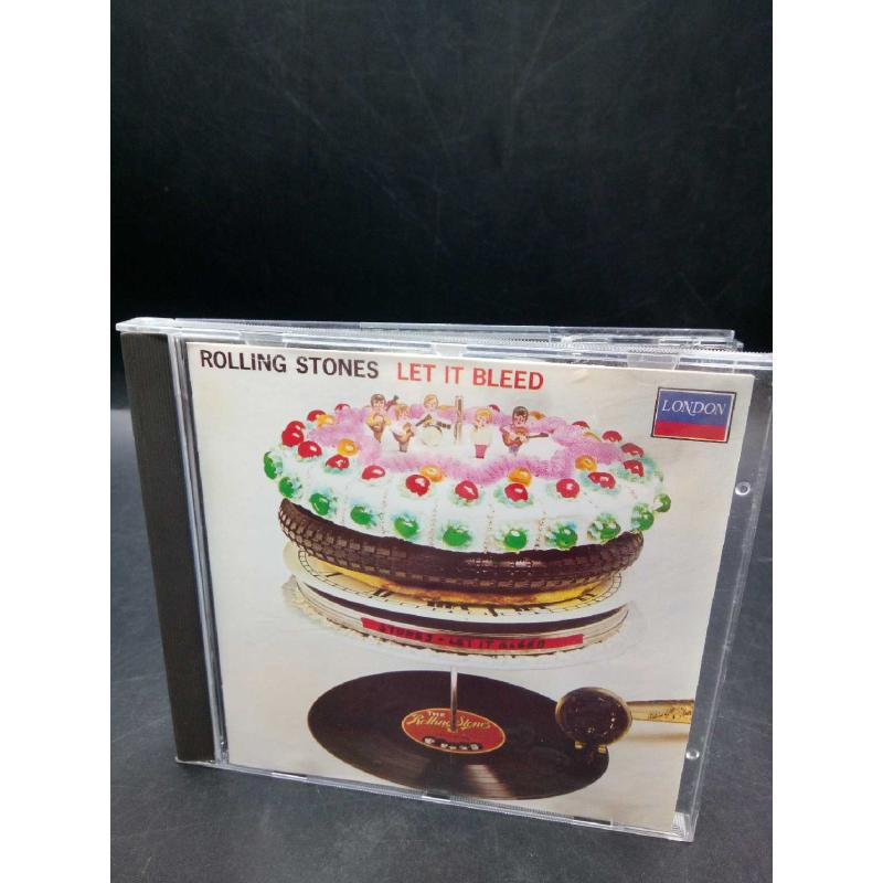 THE ROLLING STONES - LET IT BLEED   Mercatino dell'Usato Moncalieri bengasi 1