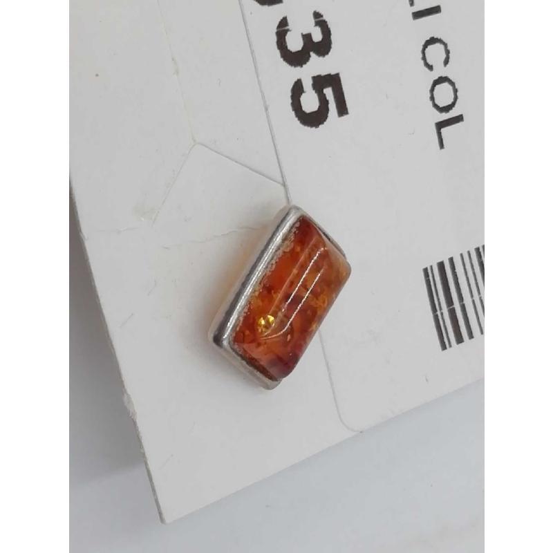 ORECCHINI PICCOLI COLOR AMBRA | Mercatino dell'Usato Moncalieri bengasi 2
