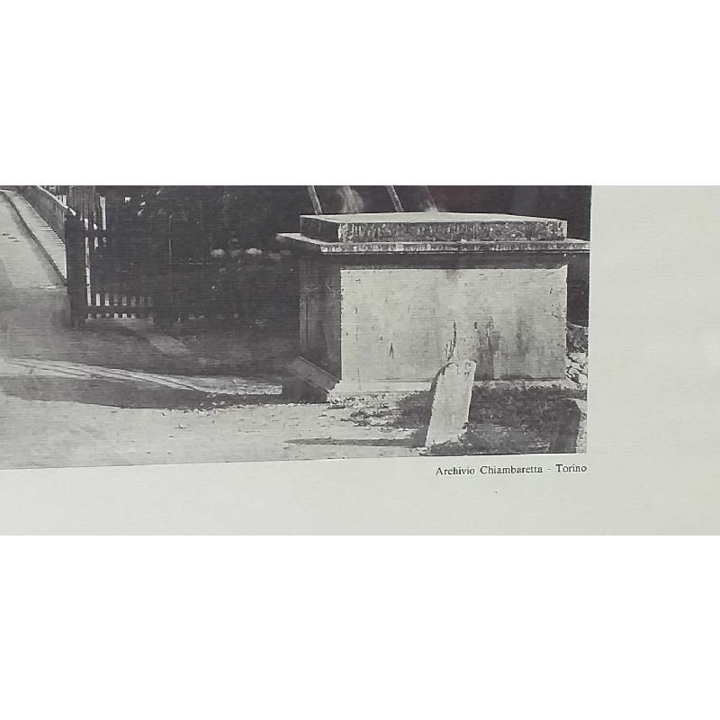 QUADRO VECCHIA STAMPA TORINO 2 | Mercatino dell'Usato Moncalieri bengasi 5