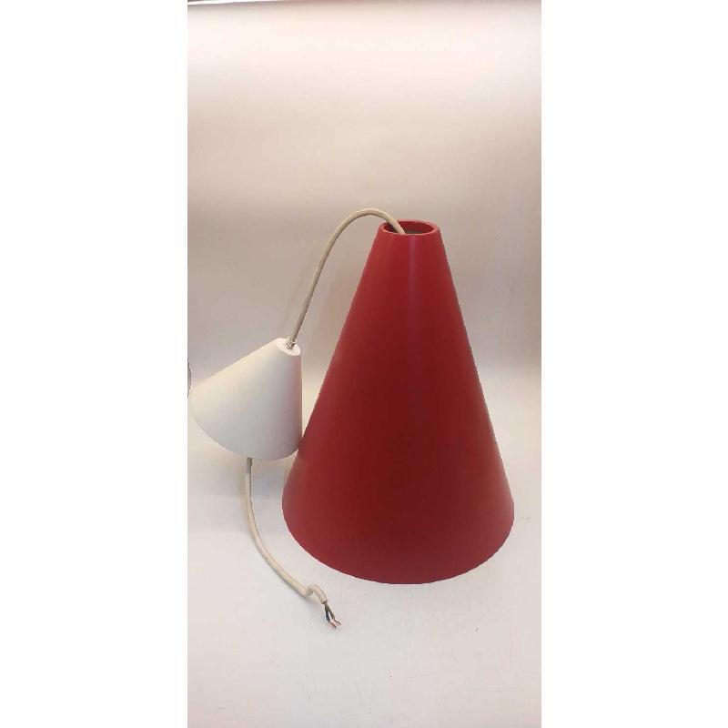 LAMPADARIO IKEA METALLO ROSSO  | Mercatino dell'Usato Moncalieri bengasi 1