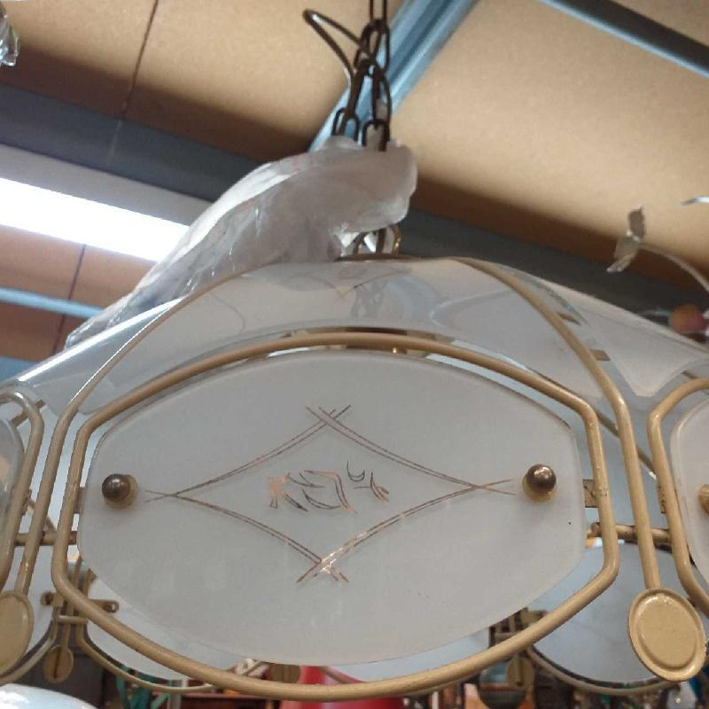 LAMPADARIO CAMPANA    Mercatino dell'Usato Moncalieri bengasi 3