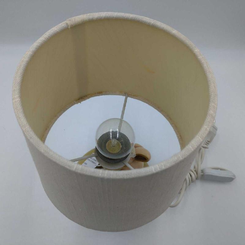 LAMPADA DA TAVOLO BASE CERAMICA THUN CONIGLIETTO E GIRASOLE  | Mercatino dell'Usato Moncalieri bengasi 5
