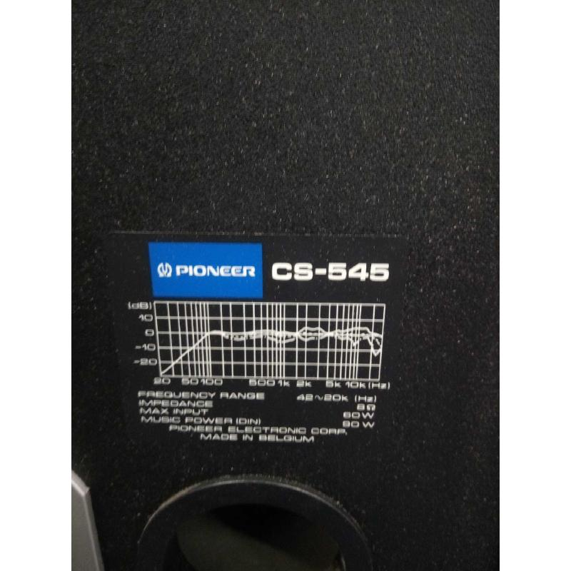 CASSE ACUSTICHE PIONEER CS 545  | Mercatino dell'Usato Moncalieri bengasi 4