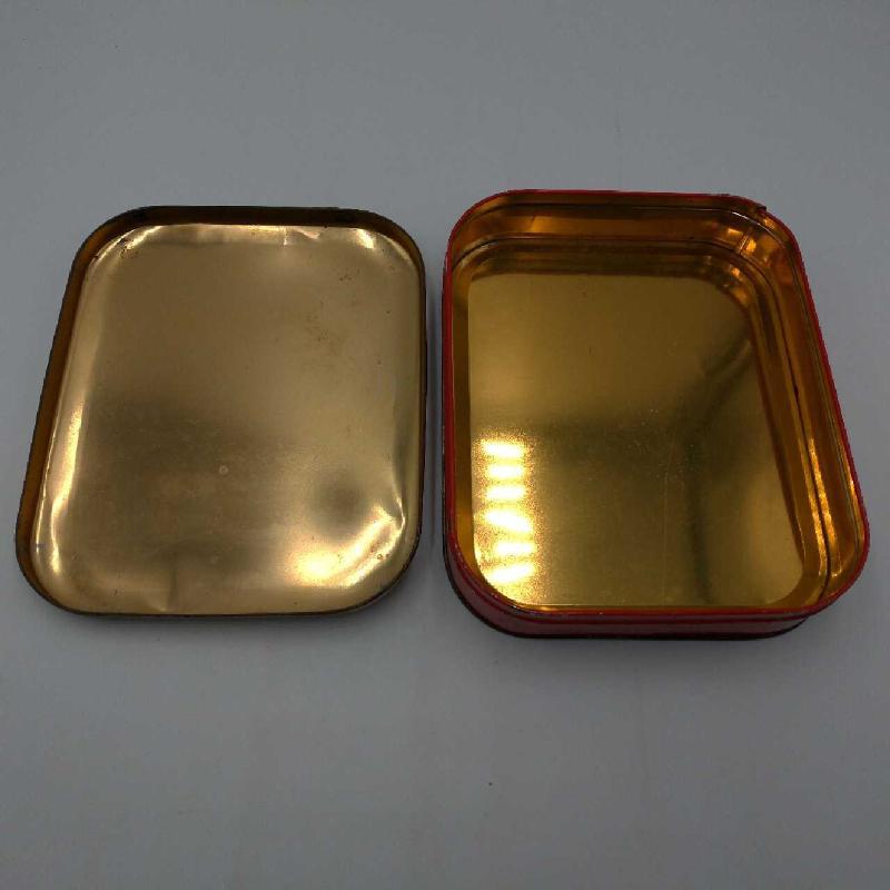 SCATOLA LATTA DUFUR C/DECORO FIORI | Mercatino dell'Usato Moncalieri bengasi 3