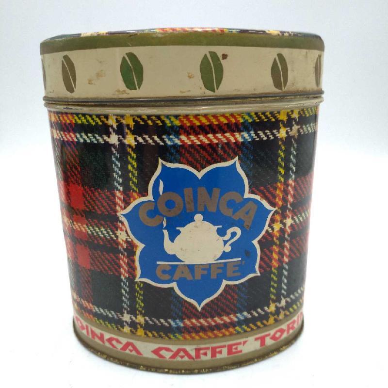SCATOLA LATTA OVALE CAFFE TOSTATO IN GRANI | Mercatino dell'Usato Moncalieri bengasi 1